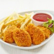 Chicken nuggets — Stock Photo #30512317