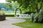 Place for wedding ceremony — Stock Photo