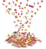 Heap of various pills  — Stock Photo