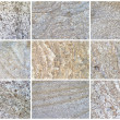 Stock Photo: Twelve Natural Limestone Background or textures