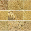 Twelve Natural Limestone Background or textures — Stock Photo #18465589