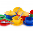 Collection of children's ware (Clipping path) — Stockfoto