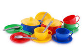 Collection of children's ware (Clipping path) — Stock Photo