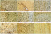 Twelve Natural Limestone Background or textures — Stock Photo