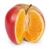 Genetically modified food (Clipping path) — Stock Photo