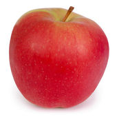 Red Apple (Clipping path) — Stock Photo