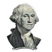President Washington George portrait (Clipping path) — Stock Photo