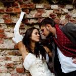 Couple bride groom wedding — Stock Photo #1362074