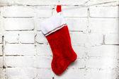 Christmas sock — Stock Photo