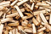 Kıyılmış yakacak odun — Stok fotoğraf