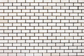 White brick wall — Foto Stock
