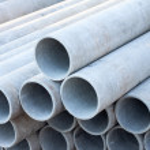 Asbestos pipes — Stock Photo