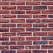 External wall from a brick — Stock Photo