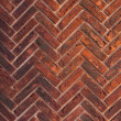 External wall from a brick — Stock Photo #19190183