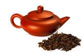 Oolong tea Dongding — Stock Photo