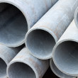 Asbestos pipes — Stock Photo