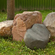 Group of boulders — Stock Photo
