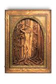 Carved picture Saint Sebastian — Stock Photo