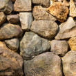 Irregular stone background — Stock Photo