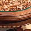 Carved table of handwork — Stock Photo #40812343