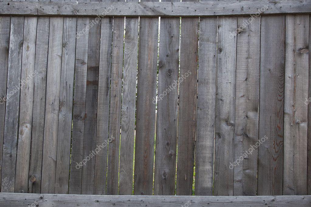 老木栅栏背景 — 图库照片