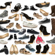 Collection of shoe — Stock Photo #13907438
