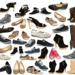 Collection of shoe — Foto Stock #13907438