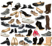Collection of shoe — Stock Photo