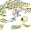 collectie dollar — Stockfoto
