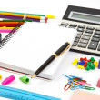 Stock Photo: School objects