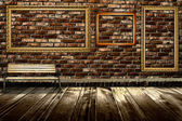 Wood floor background — Stock Photo
