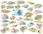 Collection dollars — Stock Photo