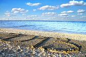 Anno sulla spiaggia — Foto Stock