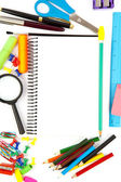 školní objekty — Stock fotografie