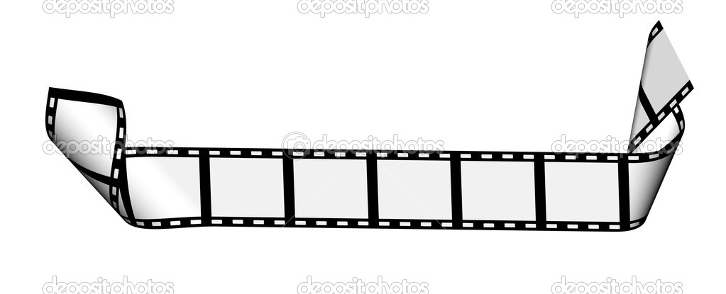 Blank film strip — Stock Photo #14252395