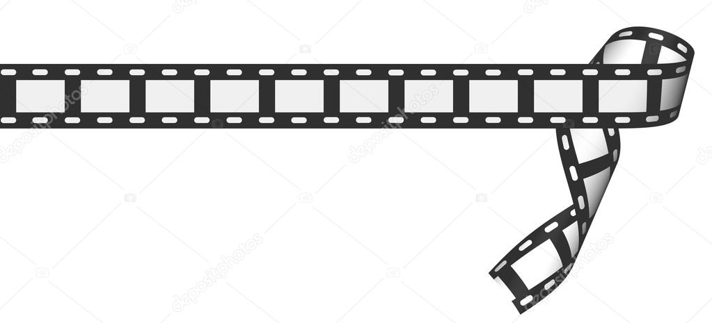 Blank film strip — Stock Photo #14252411