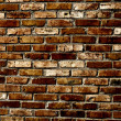 Old grunge brick wall background — Stock Photo #14260685