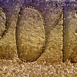 New year 2013 on ocean beach sand — Stock Photo #19158385