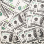 Dollars background. — Stock Photo #42143827