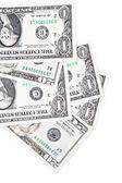 Notas de dólares — Foto Stock