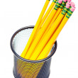 Lead pencils in metal pot — Stock Photo #50862565
