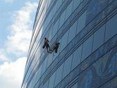 Window cleaner — Stock Photo