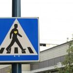 panneau de signalisation — Photo