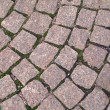An old cobblestone road — Stock Photo