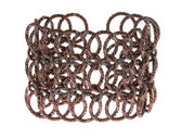 Bracelet made of copper wires — Foto Stock