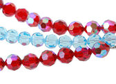 Bright glass beads — Stock Photo