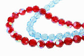 Bright glass beads — Foto Stock