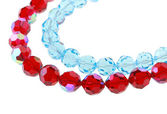 Bright glass beads — Foto de Stock