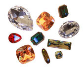 Large crystal strasses — Stock Photo