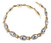 Gold plated bracelet — Stock Photo